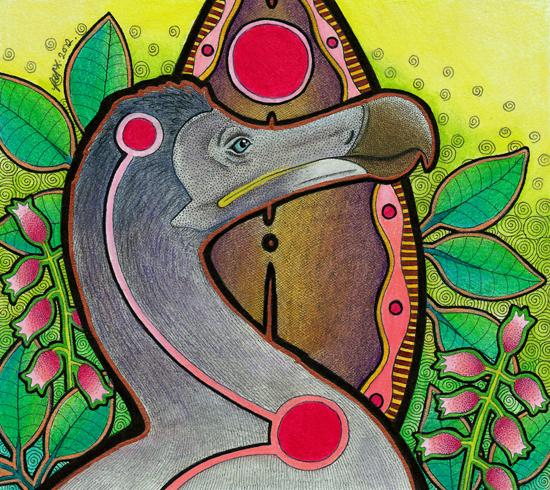 Dodo illustrated by Ravenari